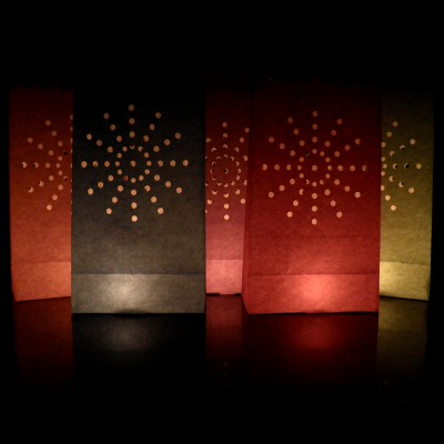 colour supernova firework candle bags