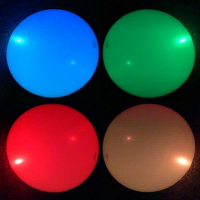 colour changing flashing LED balloons