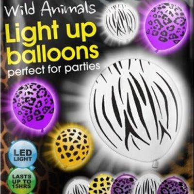 Wild Animals LED illoom balloons