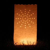 luminaire candle bags