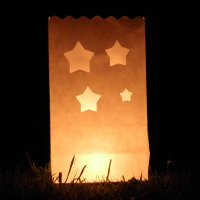 star candle bags
