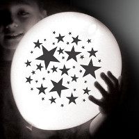 star LED balloons