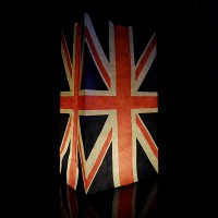 Union Jack candle bags
